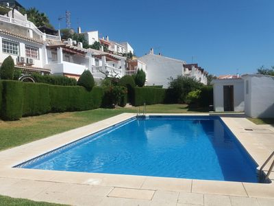 Photo for Townhouse with pool in Cala del Moral 10 minutes walk from the beach