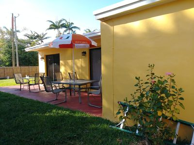 Photo for Lovely house  a short distance from the beach.