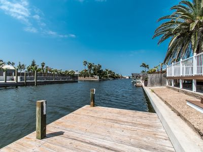 Photo for Renovated Waterfront Canal Condo 3 Bd/2 Bth Outdoors Dream