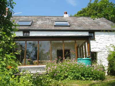 Beautiful 300 year old Farmhouse in magical setting+sheep+wild ponies grazing...