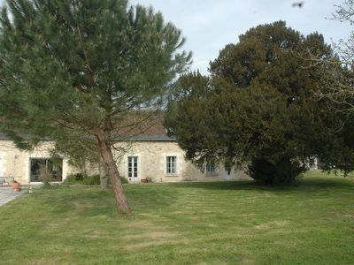 Photo for Touraine Longhouse, with, Pool, Sauna, in the heart of the castles & vineyards
