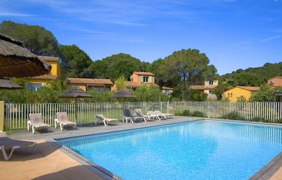 Photo for Mini Villa 4/5 pers - Swimming pool - Beach access on foot