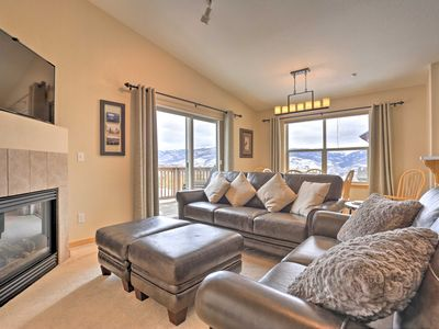 Photo for Picturesque Silverthorne Condo w/ Pool & Views!