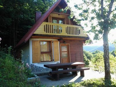 Photo for Holiday house in the forest next to river