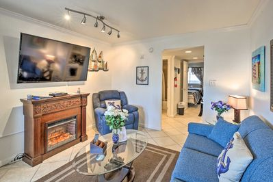 Kick back and relax at this homey Myrtle Beach vacation rental condo!