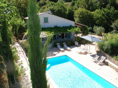 Photo for A little bit of paradise in a magnificent environment, heated swimming pool