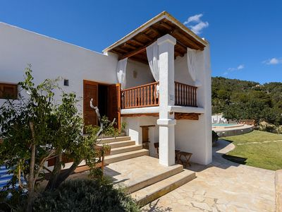 Photo for Villa Ocean Breeze - Traditional and Newly Renovated Ibiza House with Private Pool and Amazing Sea Views! Free WiFi