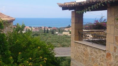 Photo for Traditional Stone Villa With Great View At The Sea