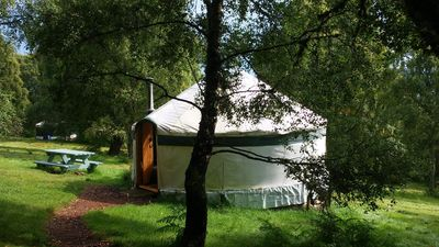Photo for Aspen Yurt - One Bedroom Camping, Sleeps 4