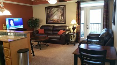 Photo for 1 BR Luxury Riverfront Condo/Perfect Location/ 2 BR also available VRBO#859465