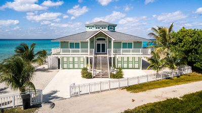 Photo for Paradise found on the Beach in South Bimini, Oceanfront 3/3 House