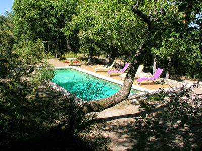Photo for Provencal house - nature - swimming pool