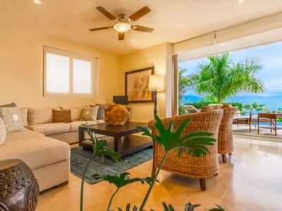 Photo for 4 Bedroom Ocean View Apartment with Private Pool