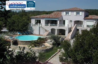 "Photo for Gîte of ""Ranc de Figère"" in Labeaume. Rental with pool for 9 people."