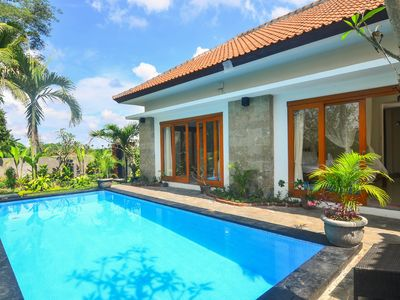 Photo for 2 BR Calm Villa Between Fields in Ubud