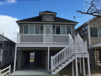 Front of house / Just raised and remodeled  in 2016