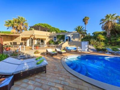 Photo for 3 bedroom Villa, sleeps 8 with Air Con, FREE WiFi and Walk to Beach & Shops
