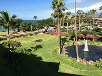 Photo for Kamaole Sands -Inner Court-Extra Large Lanai-Ocean& Garden Views