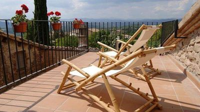 Photo for 3 bedroom Villa, sleeps 8 in Perafita with Pool, Air Con and WiFi