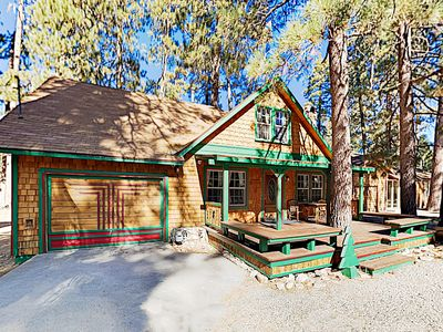 Photo for New Listing! Ultra-Charming Cabin w/ Spacious Deck & Porch - Walk to Lake