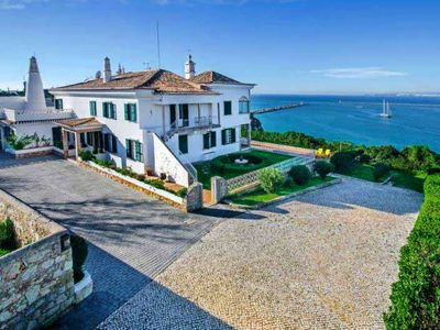 Photo for 9 bedroom Villa, sleeps 19 with Air Con, FREE WiFi and Walk to Beach & Shops