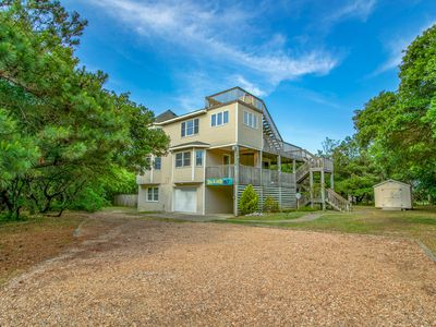 Photo for Blew Too Much | 4 Bedrooms | Corolla | Oceanside | Sleeps 10
