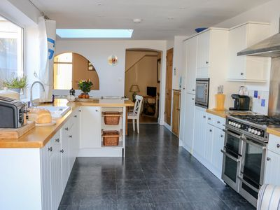 Photo for Spacious Terraced House in Salcombe, 4 bed, 2 bathrooms, 2 lounges + parking