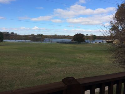 Photo for Roomy 2nd Floor Spacious Guesthouse short drive to Lake Texoma