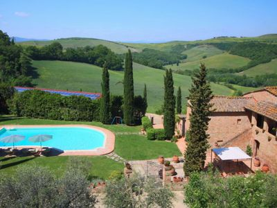 Photo for Scenic Holiday Home in Montalcino with Swimming Pool