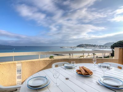 Photo for Apartment in the center of Cavalaire-sur-Mer with Internet, Terrace (103713)