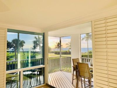 Photo for Luxury Newly Renovated 2 Bedroom Sanibel Condo On Beach, Panoramic Ocean Views!