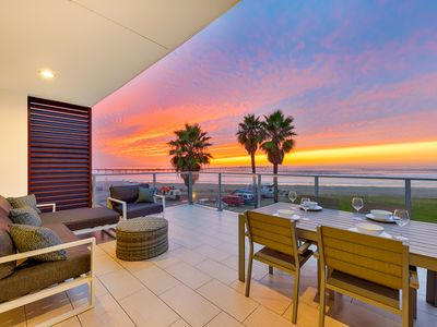 Photo for 20% OFF MAY - Contemporary Beachfront Condo, Views, Steps to Sand+Surf