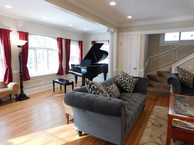 Photo for Bob's House, big classic 6 BR home near O'Hare Airport/train to downtown