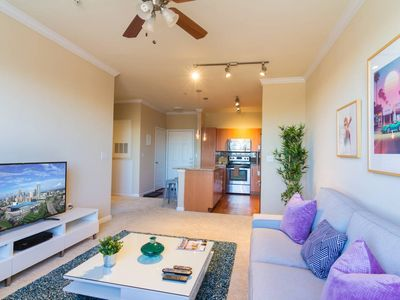 Photo for Uptown along the light rail.  Gym and Pool.  Free Parking.  Located near restaurants and bars.