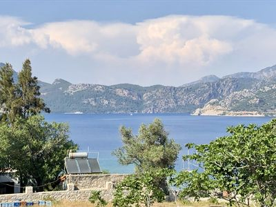 Photo for Casa Daphne stunning sea view, 200m to the beach and Selimiye Village center