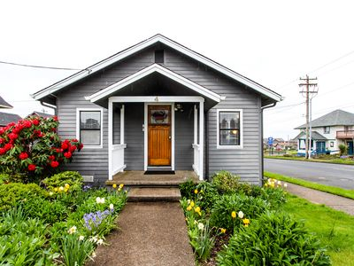 Photo for Cute, dog-friendly cottage w/ views in Nye Beach - walk to shops & the park