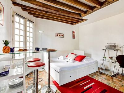 Photo for Bright and Dreamy, Gorgeous Studio in Latin Quarter