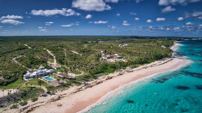 Photo for Impeccable Oceanfront Estate On Your Own 1200 Feet Of Private Pink Sand Beach