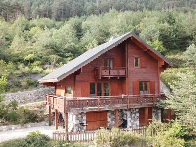 Photo for Large Luxurious Mountain Chalet in Mercantour National Park