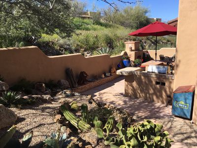 Photo for NEW LISTING! Private, Easy walk to town, Swimming Pool, Beautiful Patio