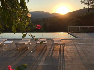 Photo for Villa Manzara 4 Bed Villa. Stunning views& infinity pool 12 mins Dalaman/Gocek
