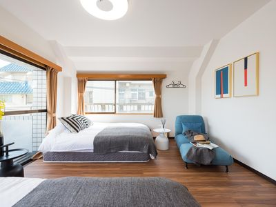 Photo for Design hotel near Ueno/Asakusa with 2 bedrooms