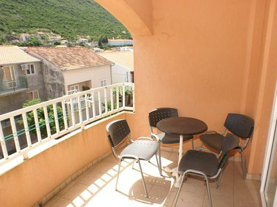 Photo for One bedroom apartment with terrace Trpanj (Pelješac)