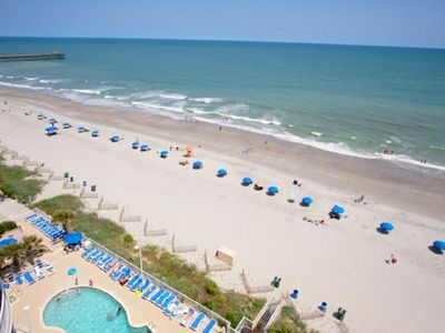 Photo for Sandy Beach Resort Penthouse - 2 Level Ocean Front 2 Bed/2 Bath Condo in Myrtle Beach