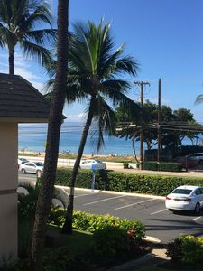 Photo for Steps To The Beach! Ocean Views From Lanai. Beautiful Grounds And Large Pool!