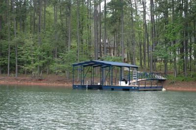 Dock from water - notice there are not other docks within proximity
