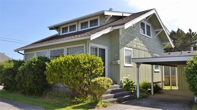 Photo for Close to Beach &; Town – Great family home, 1 block to beach, FREE WIFI as of 5/20/14  (Parking for 2 cars only)