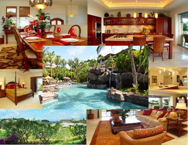 Perfect 3 bedroom luxury home with ocean views and resort pool.