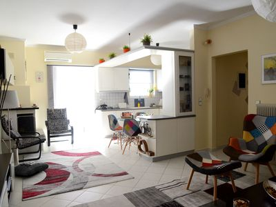 Photo for My Place is a modern 3rd floor apartment, located in the New Town