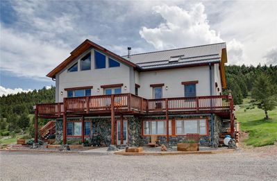 Photo for Spacious Lodge Home with Breathtaking Views of Crazy Mountains